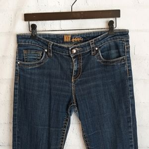 Kut from the Cloth skinny distressed, exc cond